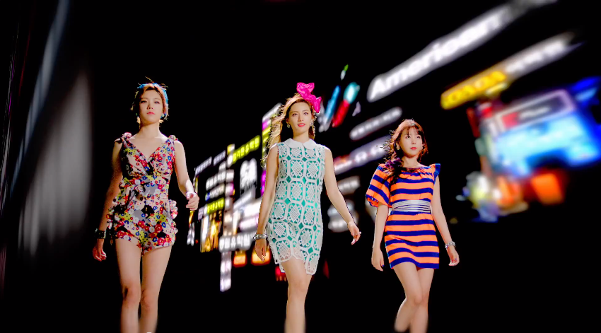 orange caramel gangnam avenue