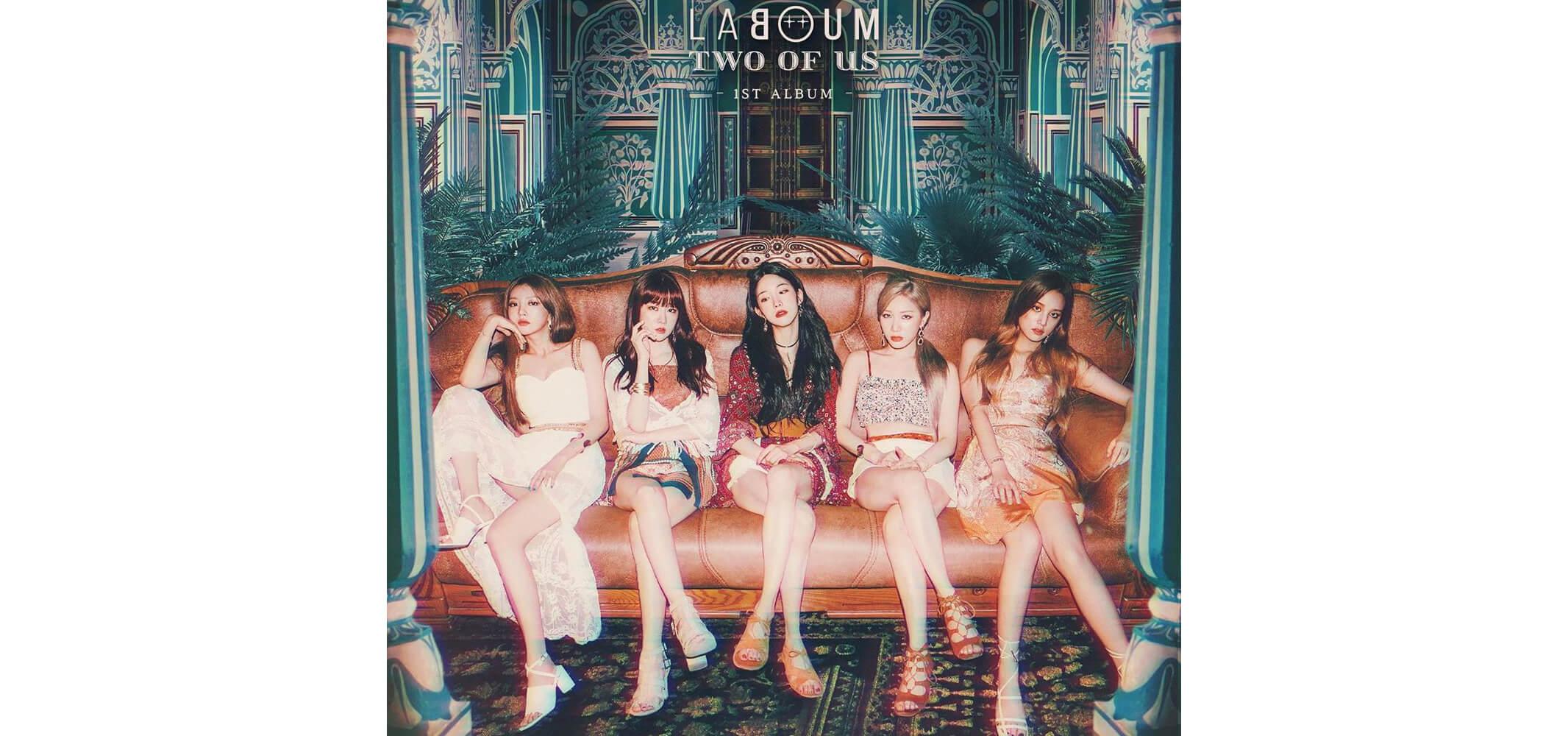 LABOUM(ラブーム) 1stアルバム『Two Of Us』カムバック ...